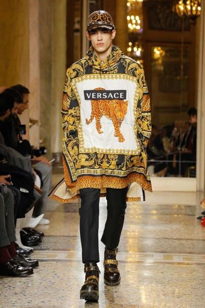 Versace2018米兰秋冬男装周