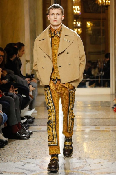 Versace2018秋冬男装周
