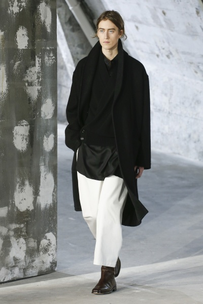 Lemaire2018秋冬男装周