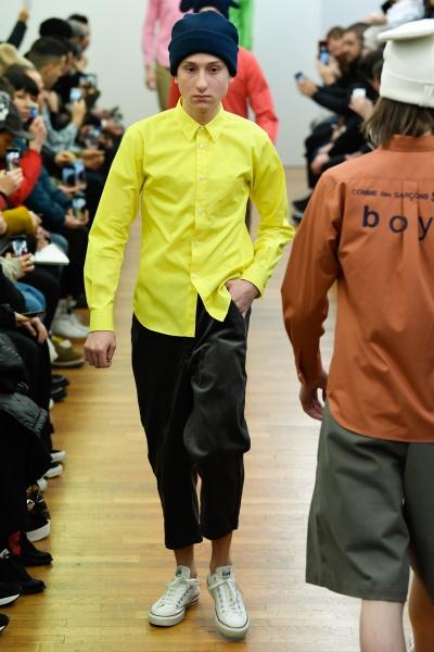 comme des garcons shirt2018秋冬男装周