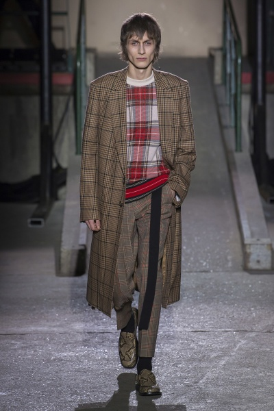 Dries Van Noten2018秋冬男装周