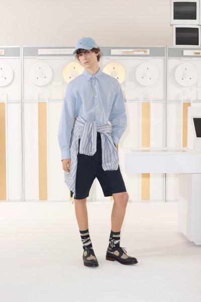 2018年秋冬男装时装发布 - 巴黎<br>Maison Kitsuné