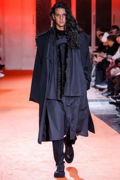 Yohji Yamamoto2018秋冬男装周