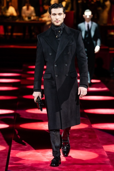 2019年秋冬男裝時裝發布 - 米蘭<br>Dolce & Gabbana