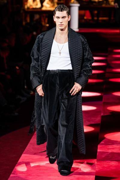 Dolce & Gabbana2019秋冬男装周