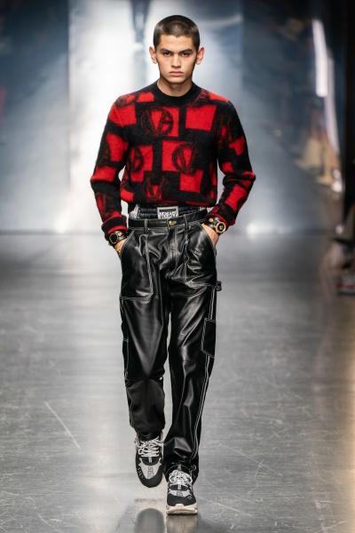 Versace2019秋冬男装周