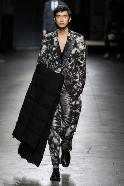 Dries Van Noten2019秋冬男装周