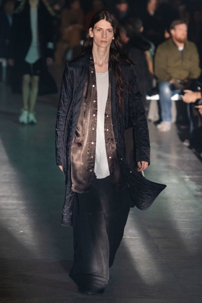 Rick Owens2019巴黎秋冬男装周
