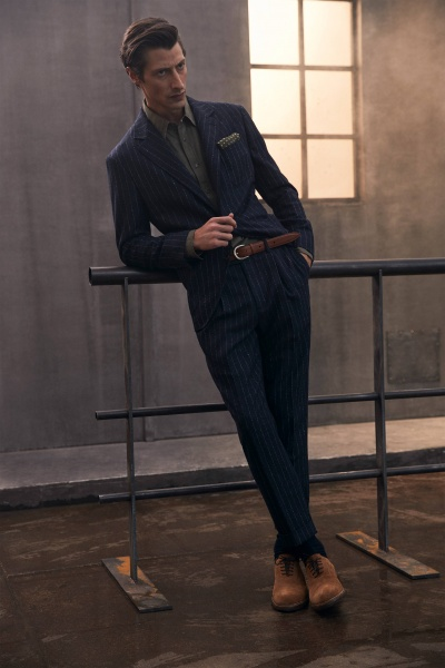 2020年秋冬男裝時裝發布 - 米蘭<br>Brunello Cucinelli