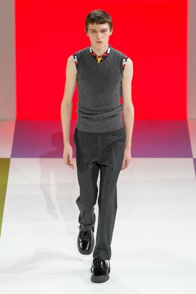 2020年秋冬男裝時裝發布 - 米蘭<br>Prada