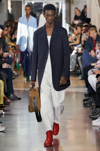 2020年秋冬男装时装发布 - 巴黎<br>Lanvin
