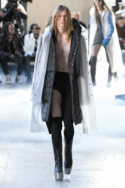 2020年秋冬男装时装发布 - 巴黎<br>Rick Owens