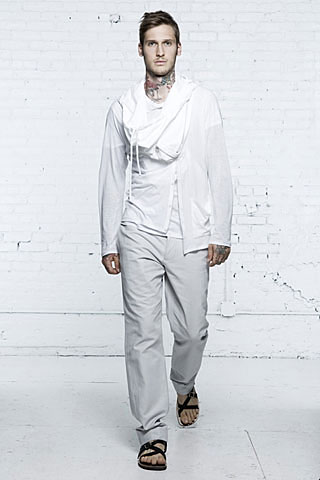 Helmut Lang2008春夏男装周