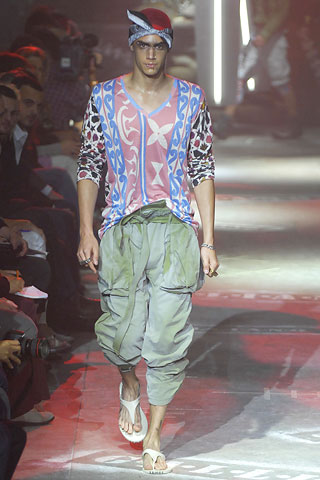 John Galliano2008春夏男装周