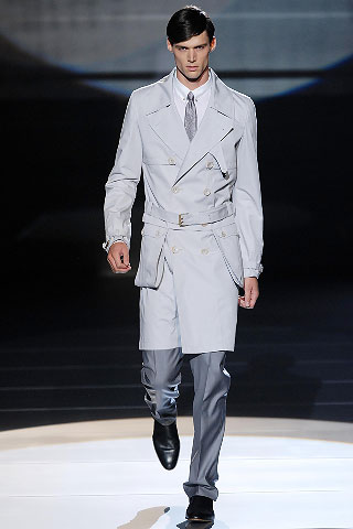 Versace2008米兰春夏男装周
