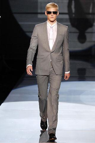 Versace2008春夏男装周