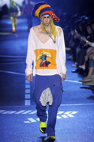 John Galliano2009春夏男装周