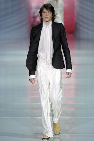 Roberto Cavalli2009米兰春夏男装周