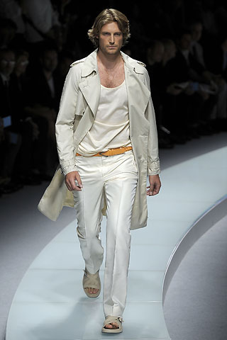 Versace2009米兰春夏男装周