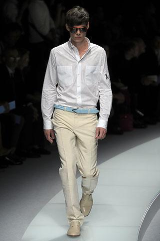 Versace2009春夏男装周