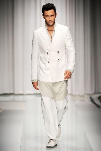 Versace2010米兰春夏男装周