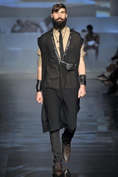 Jean Paul Gaultier 2011巴黎春夏男装周