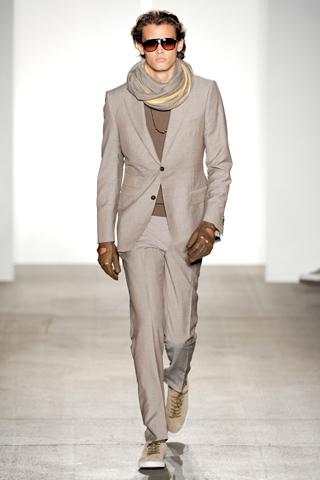 Simon Spurr2011纽约春夏男装周