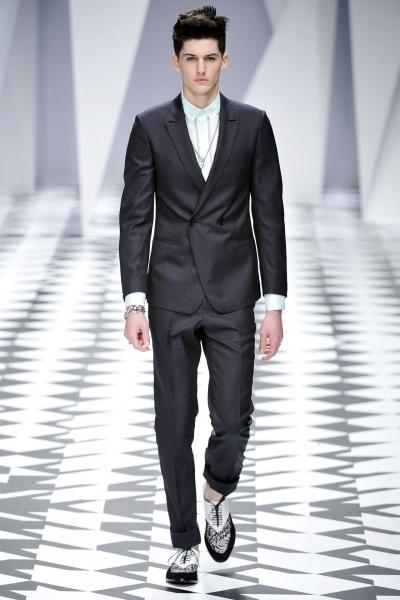 Versace 2011米兰春夏男装周