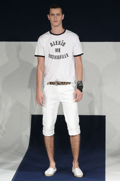 Alexis Mabille2012春夏男装周