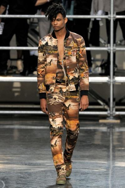 Jean Paul Gaultier2012巴黎春夏男装周