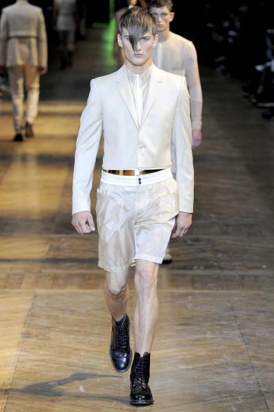 Thierry Mugler2012春夏男装周