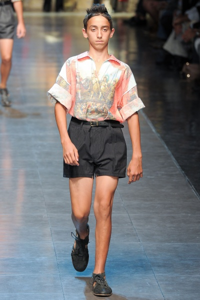 Dolce & Gabbana2013米兰春夏男装周