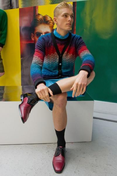 Jonathan Saunders2013伦敦春夏男装周