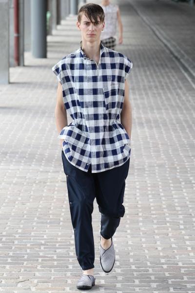 3.1 Phillip Lim2014巴黎春夏男装周