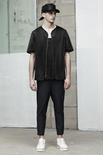 Alexander Wang2014春夏男装周