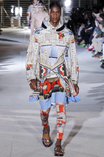 Givenchy2014巴黎春夏男装周