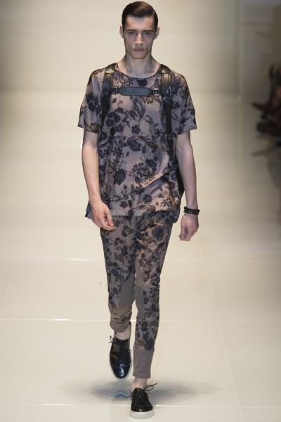Gucci2014米兰春夏男装周