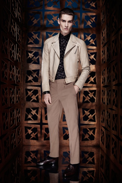 Roberto Cavalli2014春夏男装周