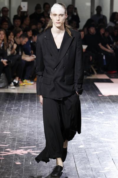 Yohji Yamamoto2014春夏男装周