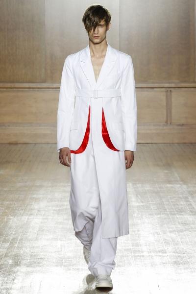 Alexander McQueen2015春夏男装周