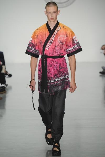 Astrid Andersen2015春夏男装周