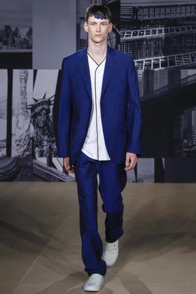 DKNY2015伦敦春夏男装周