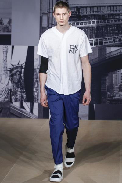 DKNY2015春夏男装周