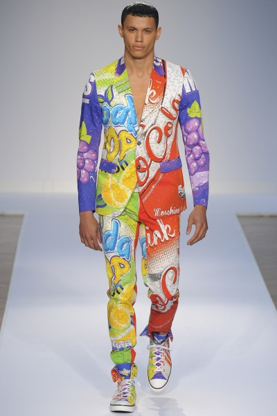 Moschino2015伦敦春夏男装周