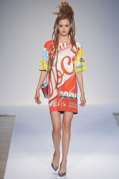 Moschino2015春夏男装周