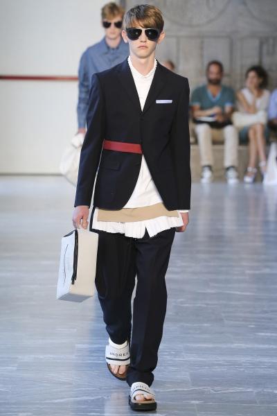 Andrea Pompilio2015米兰春夏男装周