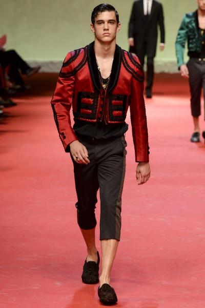 Dolce & Gabbana2015春夏男装周