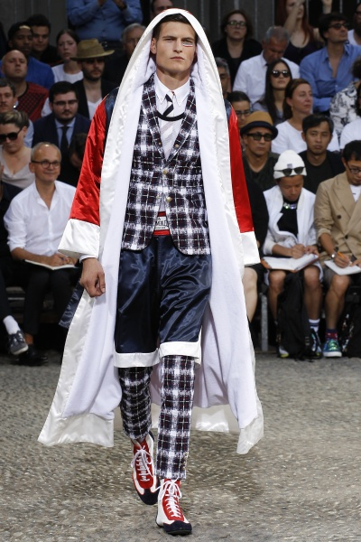 Moncler Gamme Bleu2015春夏男装周