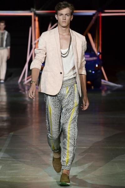 Roberto Cavalli2015春夏男装周
