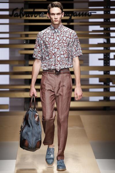Salvatore Ferragamo2015春夏男装周